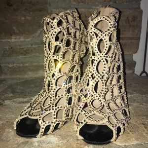 Sergio Rossi Shoes - Sergio Rossi Mermaid Booties